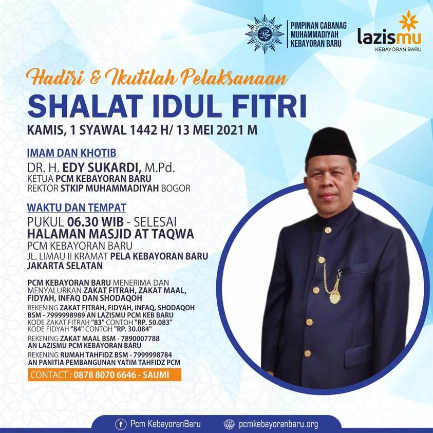 Info Shalat Idul Fitri 1442 H