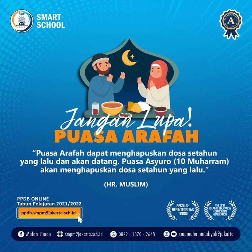 Jangan Lupa Puasa Arafah!